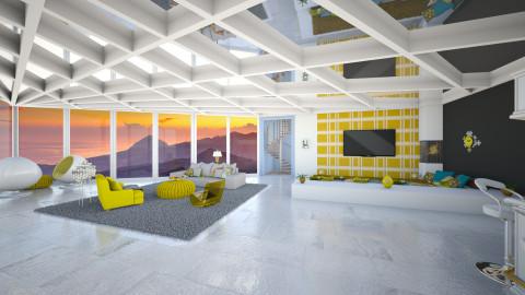 Vibrant Colours - Retro - Living room - by Tuubz