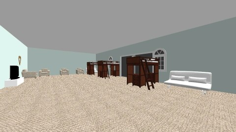 the trio  - Bedroom - by Jalayshia Benjamin