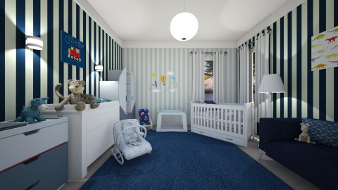 Oliver baby - Kids room - by evelyn19