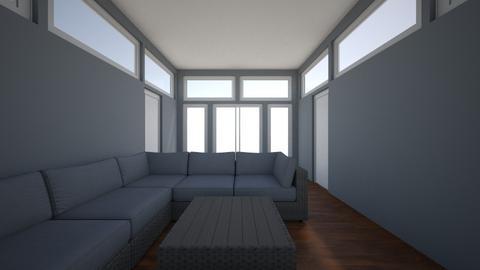Sunroom - Living room - by chrometoaster