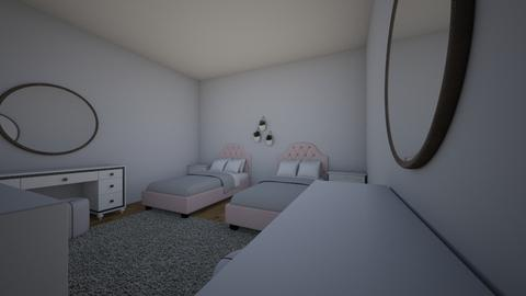 Twin Girl Room  - Kids room - by goldstein d