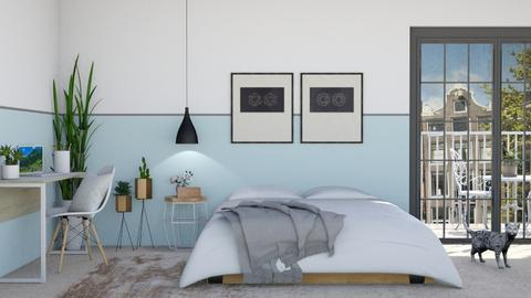 Scandinavian Simplicity - Bedroom - by lovedsign