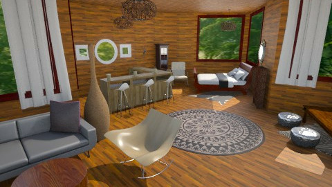 tree house2 - Living room - by nesta