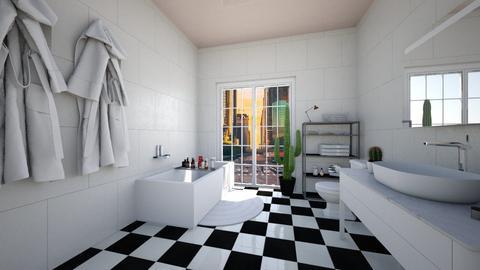 Modern Retro - Bathroom - by MrsPineapple