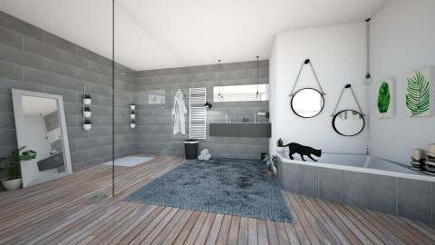 new style - Modern - Bathroom - by dett19