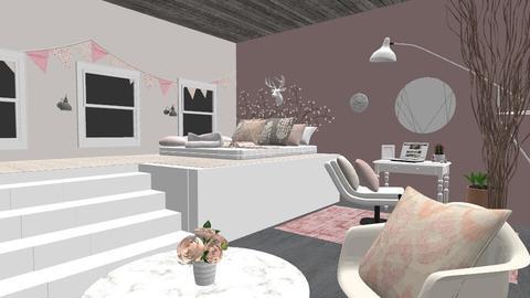 Blushing In The Morning - Feminine - Bedroom - by Qtangel