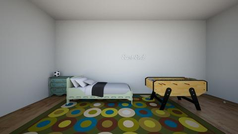 boy bedroom - by ArtyNaar