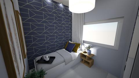 Small Room - Modern - Bedroom - by Cristiane Lichotto