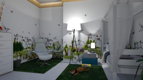 23012018A - Modern - Kids room - by matina1976