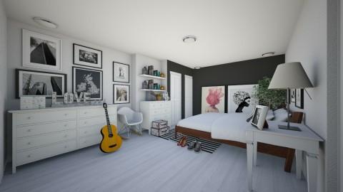 Bedroom redesign - Modern - Bedroom - by Karie Claudio