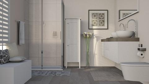 Smooth Colors - Modern - Bathroom - by millerfam