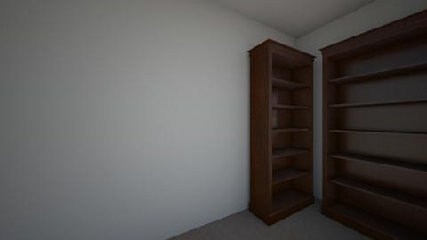 Michaels Room - Minimal - Bedroom - by donaldsoule