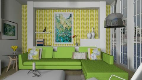 aswmaon house - Modern - Living room - by Lauren Munson