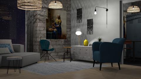 Dorm - Modern - Bedroom - by Jessica Fox