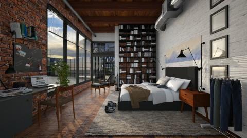 Loft Bedroom - Bedroom - by kingjackie51