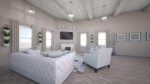 Haring Oak - Modern - Living room - by Nik_Laurayne