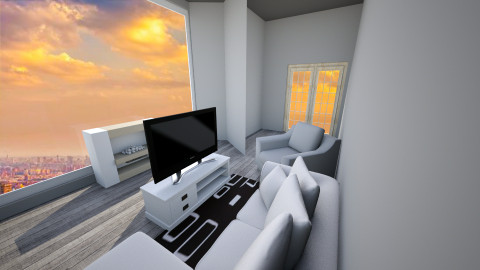 Modern Living Space - Living room - by Wesley Clark