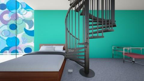 modern bedroom - by addideet1623