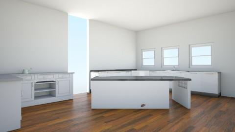 House 1 Kitchen - Modern - Kitchen - by HewoUnicorn