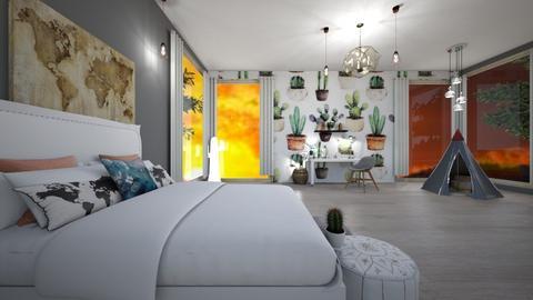 cacti cacti everywhere - Bedroom - by SelahH11