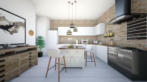Kitchen  - Classic - Kitchen - by karla997