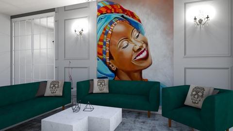 6 - Living room - by chaimae saidoun