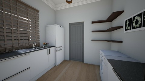 small kitchen - by opus