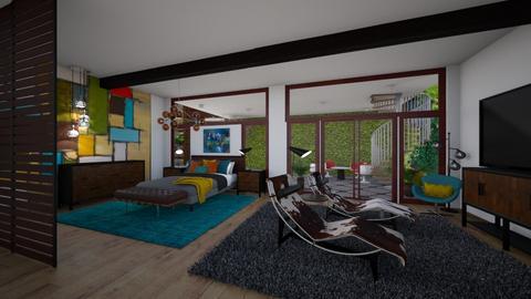 MCM Bedroom - Bedroom - by jjp513
