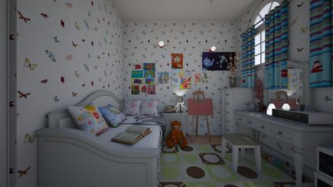 kids bedroom1 - Bedroom - by GeGe Kanthip