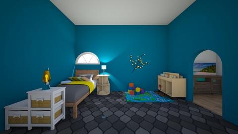 boys room - Kids room - by ham_n_lid