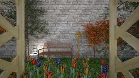 Garden Hideout - by millerfam