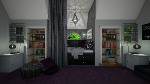 Bed Nook - Classic - Bedroom - by  krc60