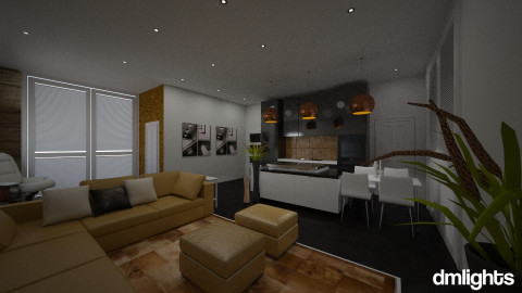 1 rm apts - Bedroom - by DMLights-user-994237
