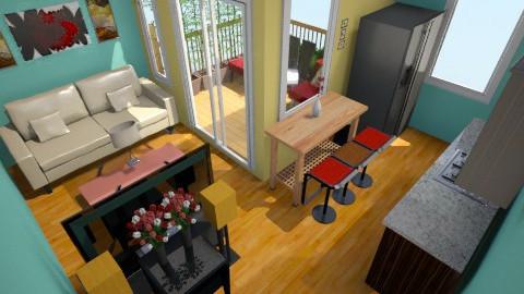 spark of Green 11 - Minimal - Living room - by herjantofarhan
