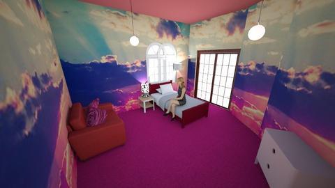beachside bedroom  - Bedroom - by Epicone