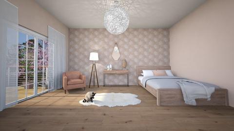 ARTISAN FLOORING template - Minimal - Bedroom - by ScillaSiberica