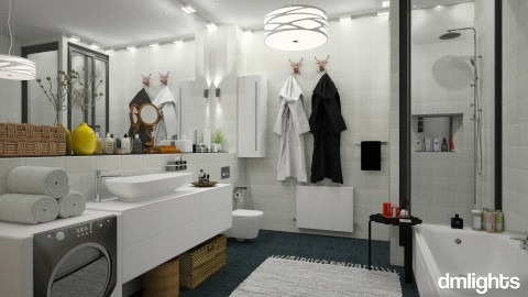 Swedish Apartment - Bathroom - by DMLights-user-997247