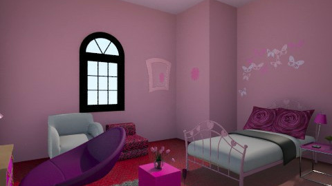 the young room - Modern - Kids room - by stauroula