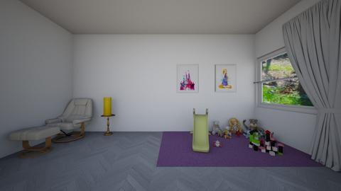 Rapunzel Nursery - Kids room - by Avika