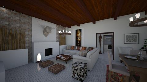Ibiza livingroom - by Lisett