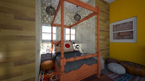 Boho Bedroom - Global - Bedroom - by HIHELLOHI