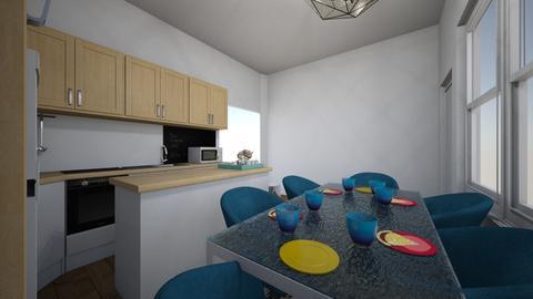 New Kitchen corner4 - Kitchen - by Kmstyles84