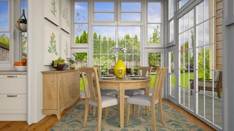 Breakfast Nook - Dining room - by lauren_murphy