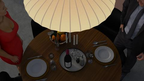 Romantic dinner - Glamour - Dining room - by HenkRetro1960