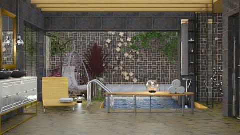 bath birds - Bathroom - by elyssaumber