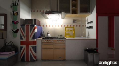 teen flat - Bedroom - by DMLights-user-1044826