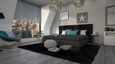 eclectic - Bedroom - by anjaam