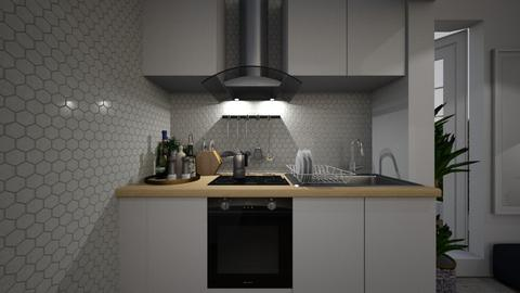 Casa282Kitchen - Modern - Kitchen - by nickynunes