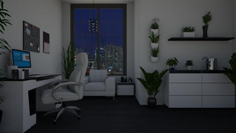urban jungle office - Office - by Tzed Design