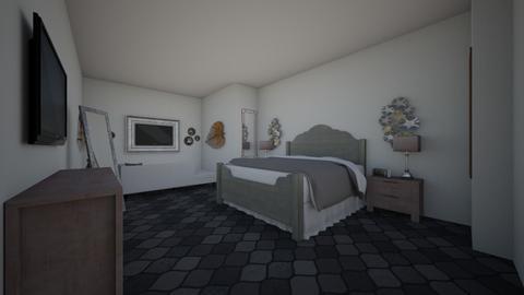 modern master suite - Modern - Bedroom - by derome